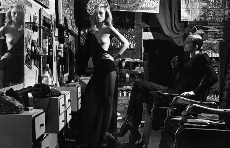 Ракель Циммерманн и Энико Михалик / Raquel Zimmermann and Eniko Mihalik by Mario Sorrenti in Vogue Nippon