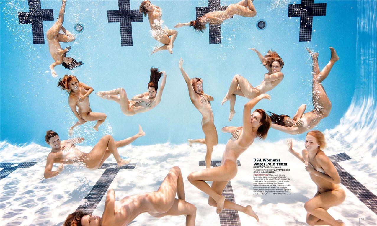 Сборная США по водному поло / USA Women Water Polo Team - ESPN Magazine Body Issue 18 october 2010
