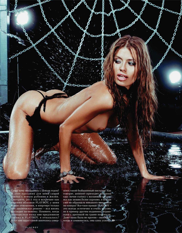 Victoria Bonya / Виктория Боня в журнале Playboy Украина, январь 2011
