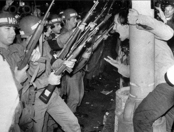 Чехословакия-1968, США-1968, Франция-1968