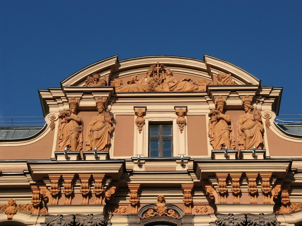 Utin's apartment house (Ginzburg house), St. Petersburg