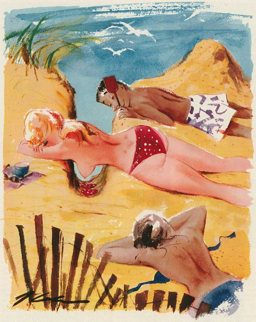 Playboy cartoon Jack Cole