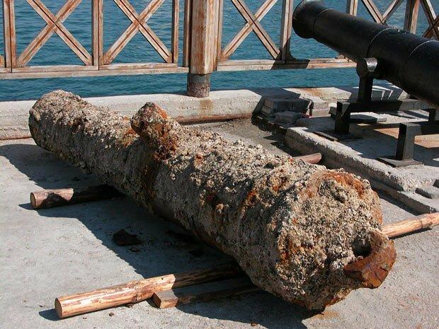 Пушки в Артбухте