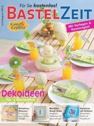 Журнал Kunst & Kreativ Bastelzeit Juli-August 2013
