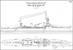 Книга Чертежи кораблей французского флота - SUFFREN 1927