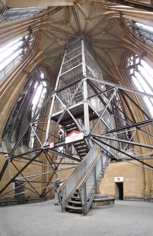 Südturm Aufgang