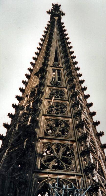 Turmspitze von außen