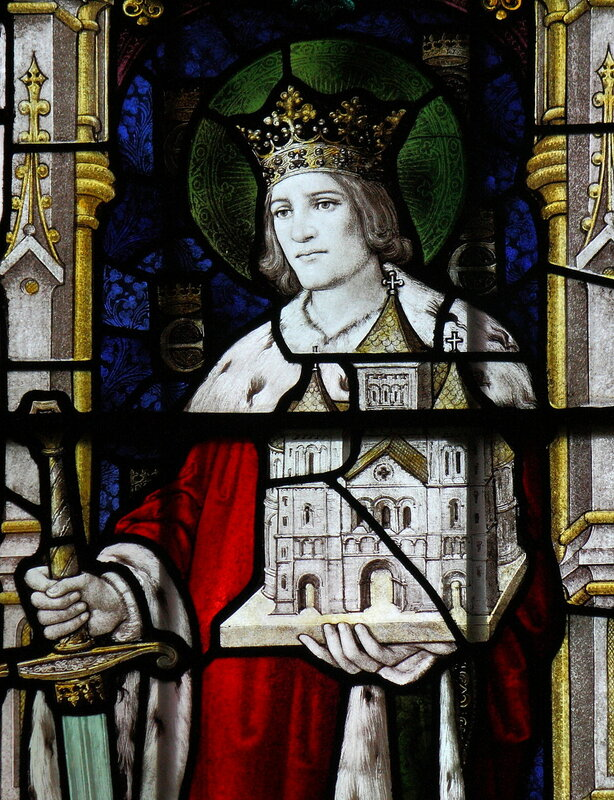 Saint King Edwin of Northumbria, St Mary, Sledmere, East Riding of Yorkshire