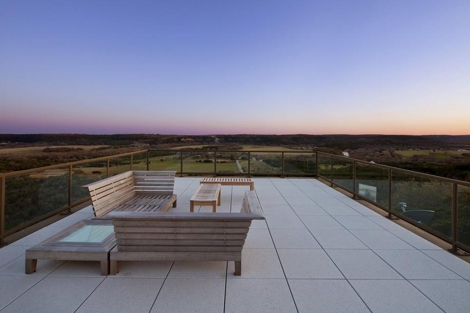 Просторный дом в Техасе от Cunningham Architects