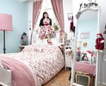 Спальни девушек разных стран мира