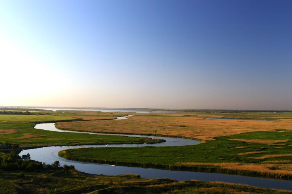 Река Маныч, озеро Маныч-Гудило