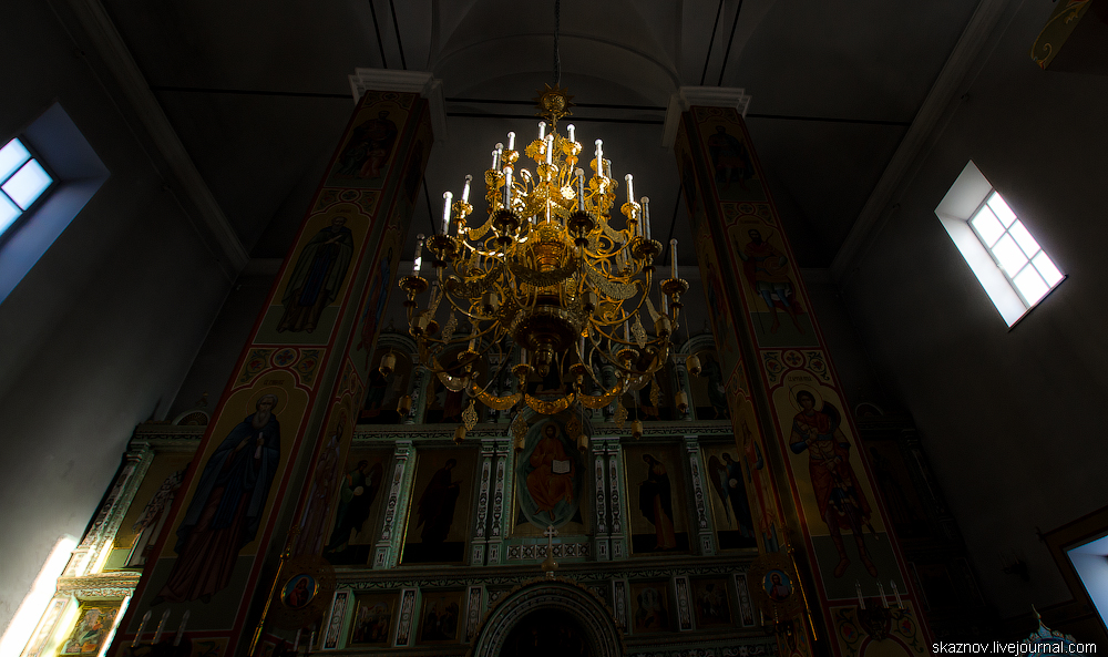г.Городец, Церкви, монастырь и земляной вал.