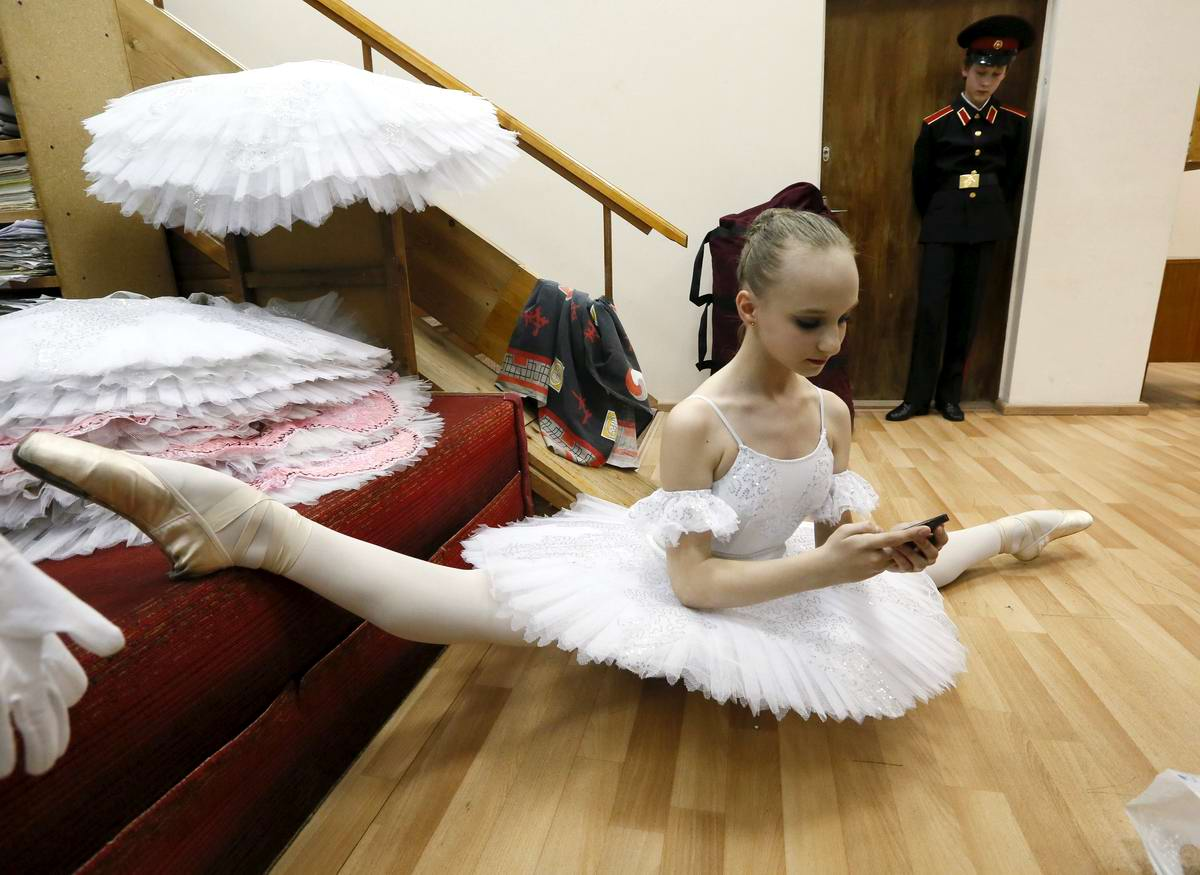 Смешные фото балерины на пенсии