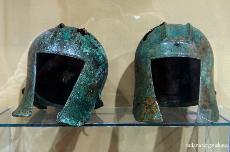 Иллирийские военные шлемы