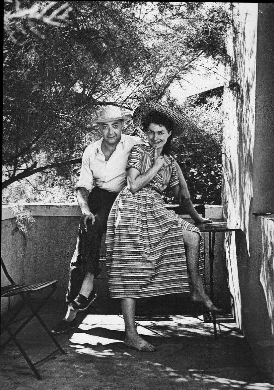 1945. Жильберта и Брассай в Пиренеях