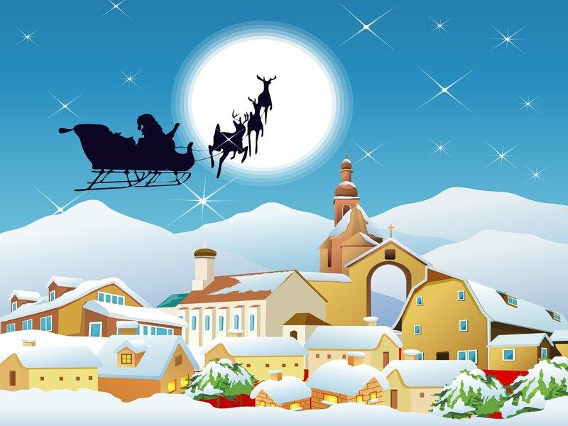 Красивые обои на рабочий стол   Рождество, 134 волшебные фотографии!