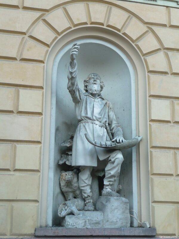 Герой финского эпоса - Вяйнемёйнен.