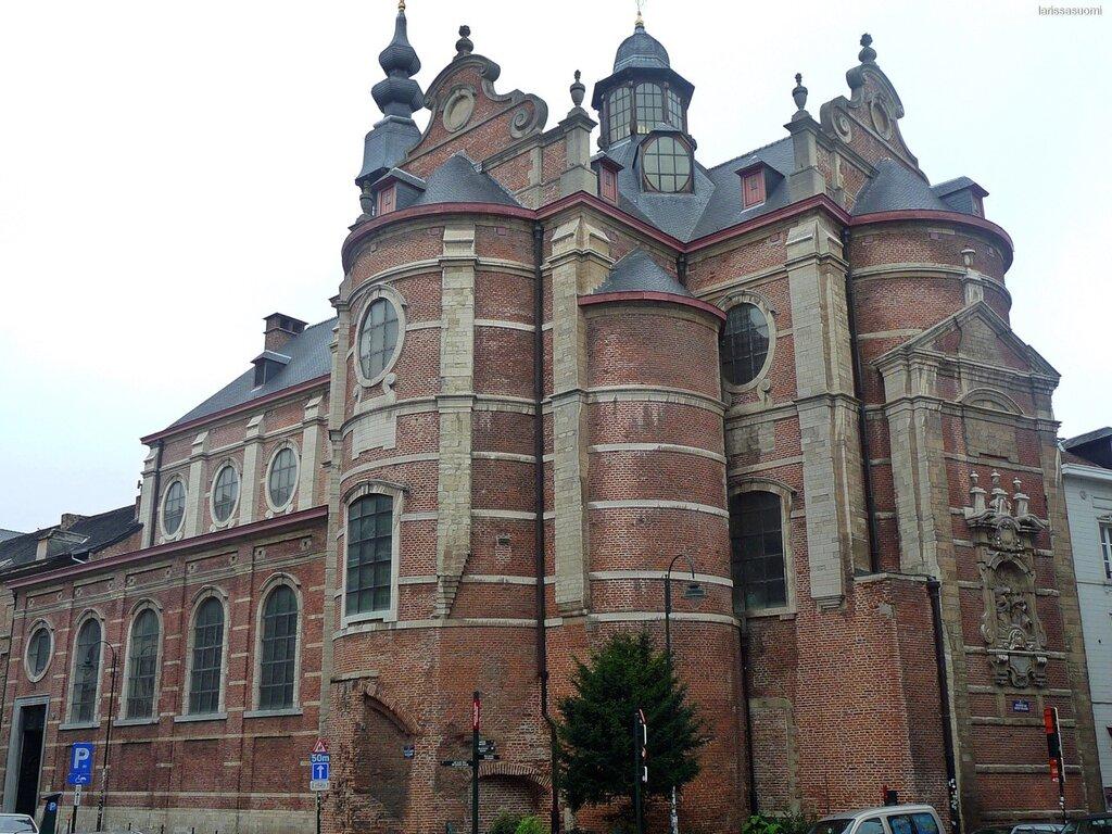 Notre-Dame aux Richers Claires. Брюссель.