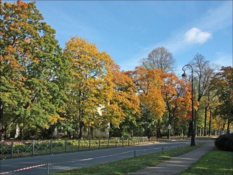 Санкт-Петербург пешеходные маршруты