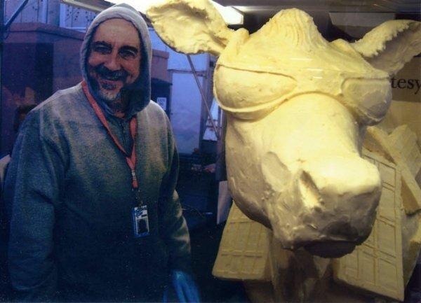 Джим Виктор, масляные скульптуры