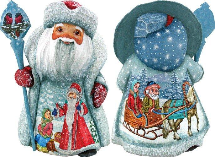 Новогодние игрушки от студии G.DeBrekht