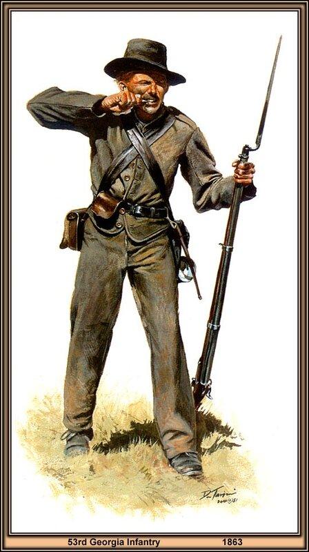 Сша гражданская война в сша солдаты