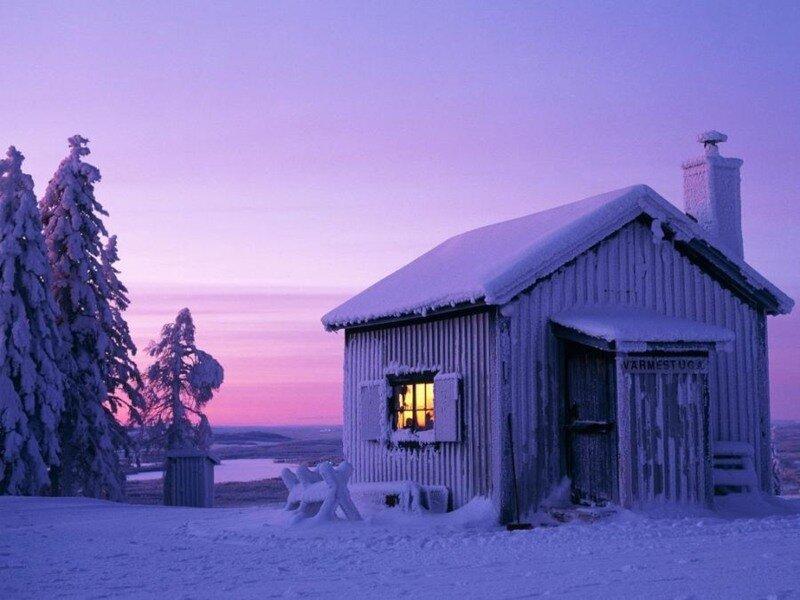 Так и хочется скорее зиму.  Зимние картинки.