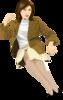 Девушка векторный клипарт
