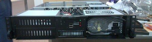 Сервер без крышечки