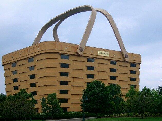 Дом-корзина (The Basket Building)