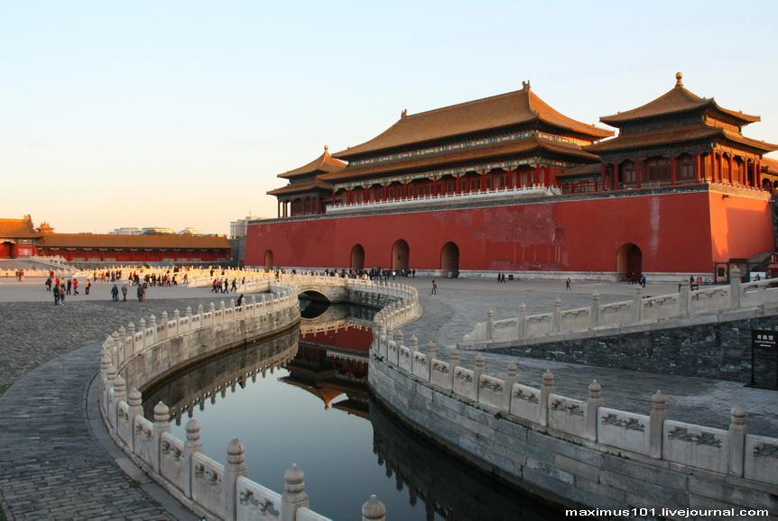 запретный город в пекине фото
