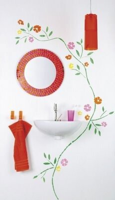 Сумка-Тележка Gimi Easy Go красно-бело-убая хозяйственная на колесиках.