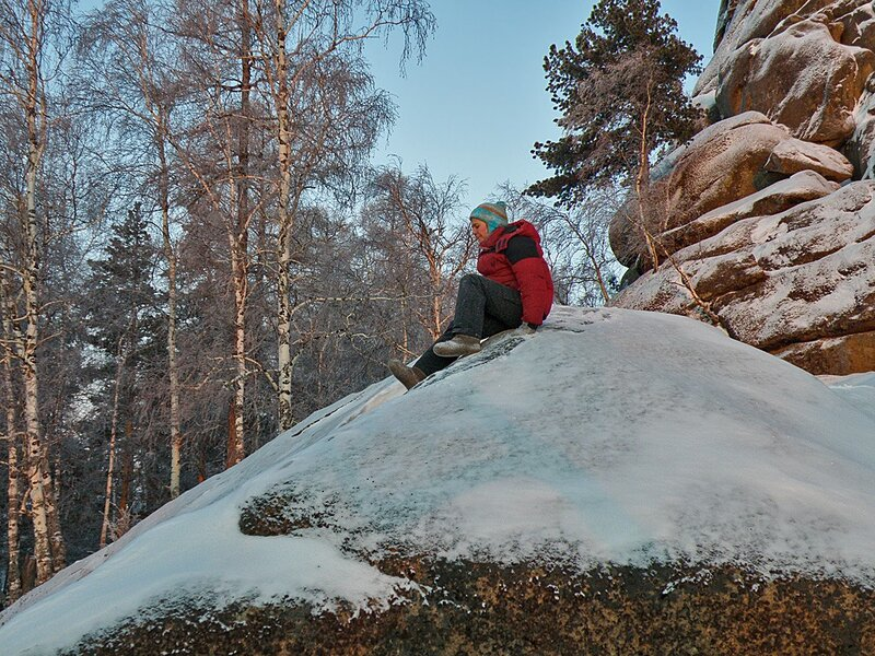 Хорошо зимой на Столбах!