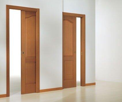 дверь прячется в стене