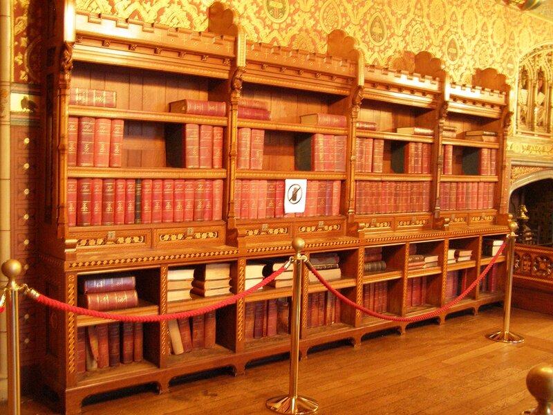 Библиотека замка Кардиффа