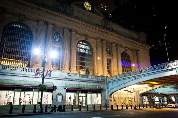 нью йорк фото ночью