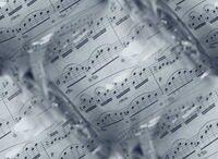 музыкальный(серый фон с нотами)
