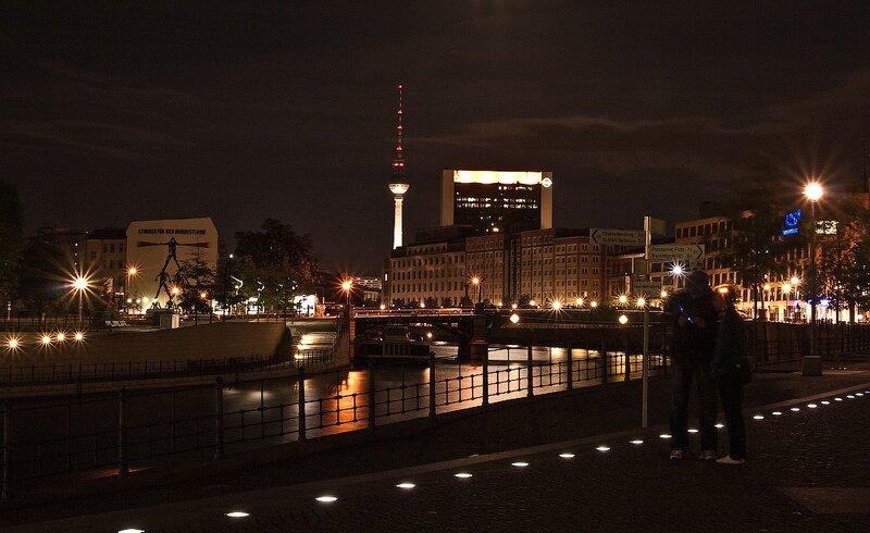 фотографии ночной берлин, германия отчёт, германия фотоотчёт