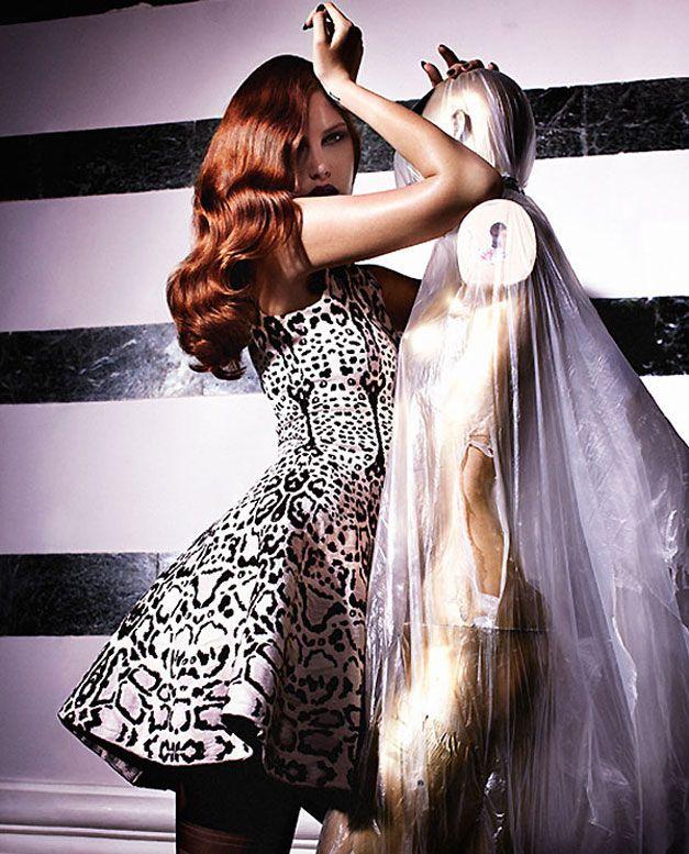 модель Кэтрин МакНейл / Catherine McNeil, фотограф Rafael Stahelin
