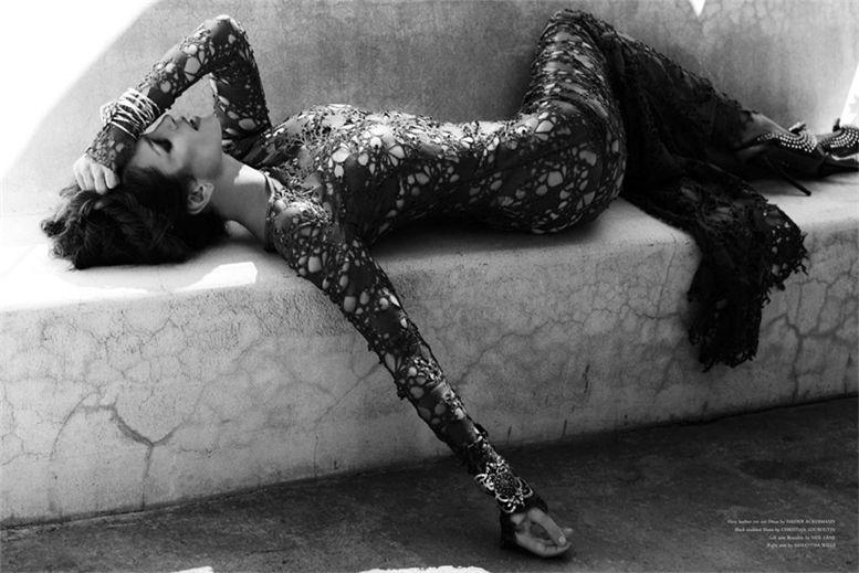 модель Синди Кроуфорд / Cindy Crawford, фотограф Kayt Jones