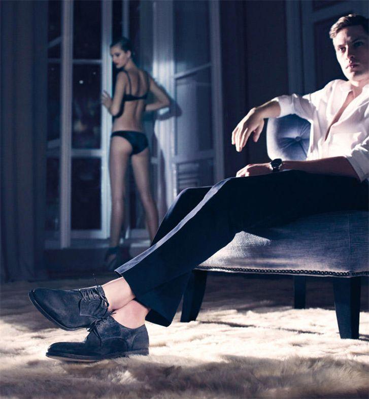 модели  Тони Гаррн и Матиас Лауридсен / Toni Garrn and Mathias Lauridsen