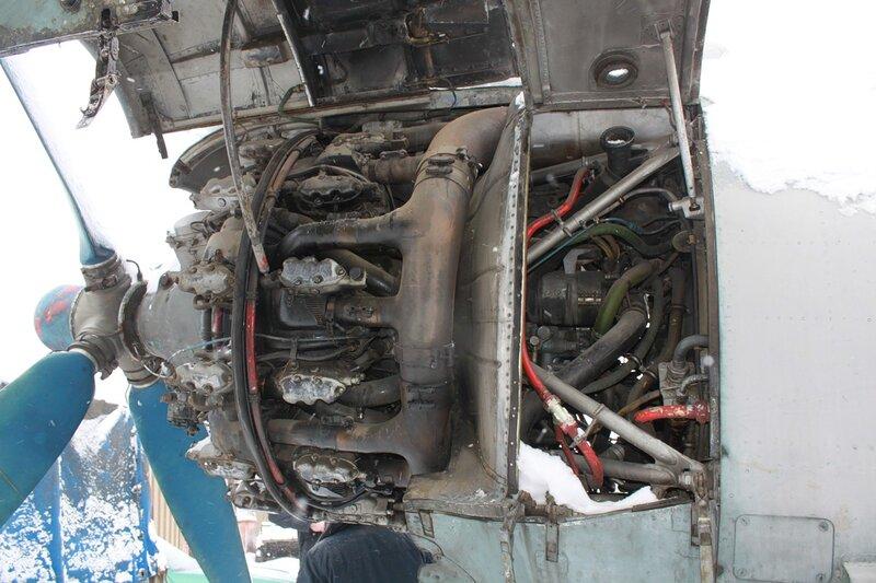 АШ-82Т на Ил-14Т