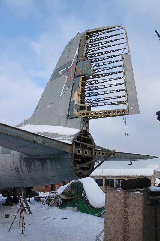 Хвост Ил-14Т