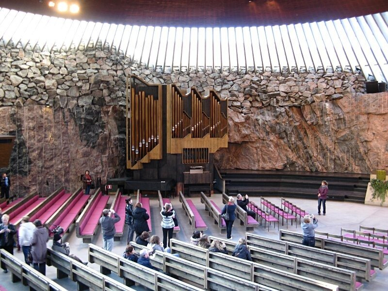 Church in the rock Temppeliaukio