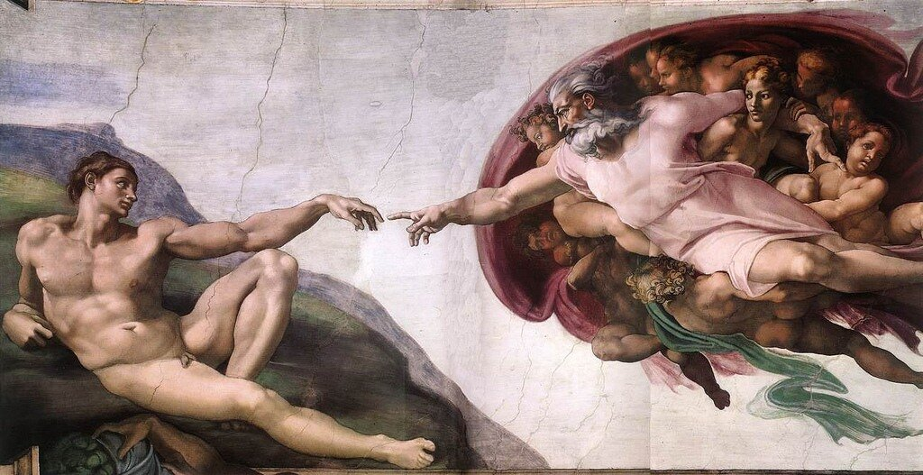 Michelangelo Creation of Adam 1510