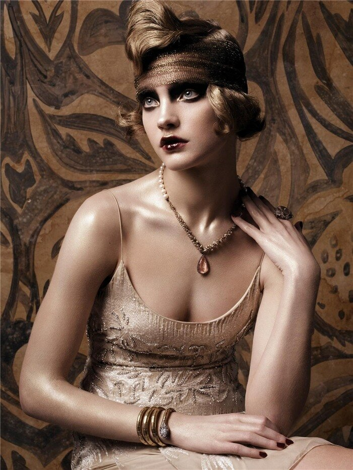 Old Fashioned. Natalia Vodianova by Steven Meisel