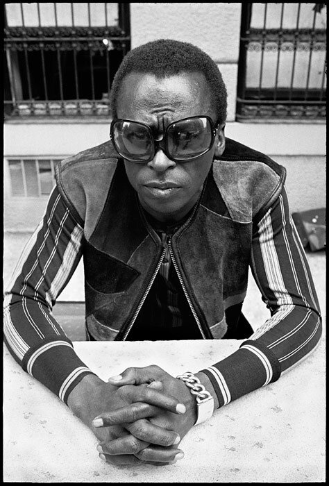 jazz legend Miles Outside - June 1969