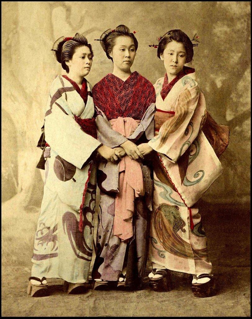 японское ретро фото