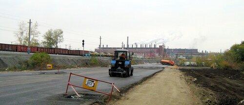 Новая дорога около кислородного завода