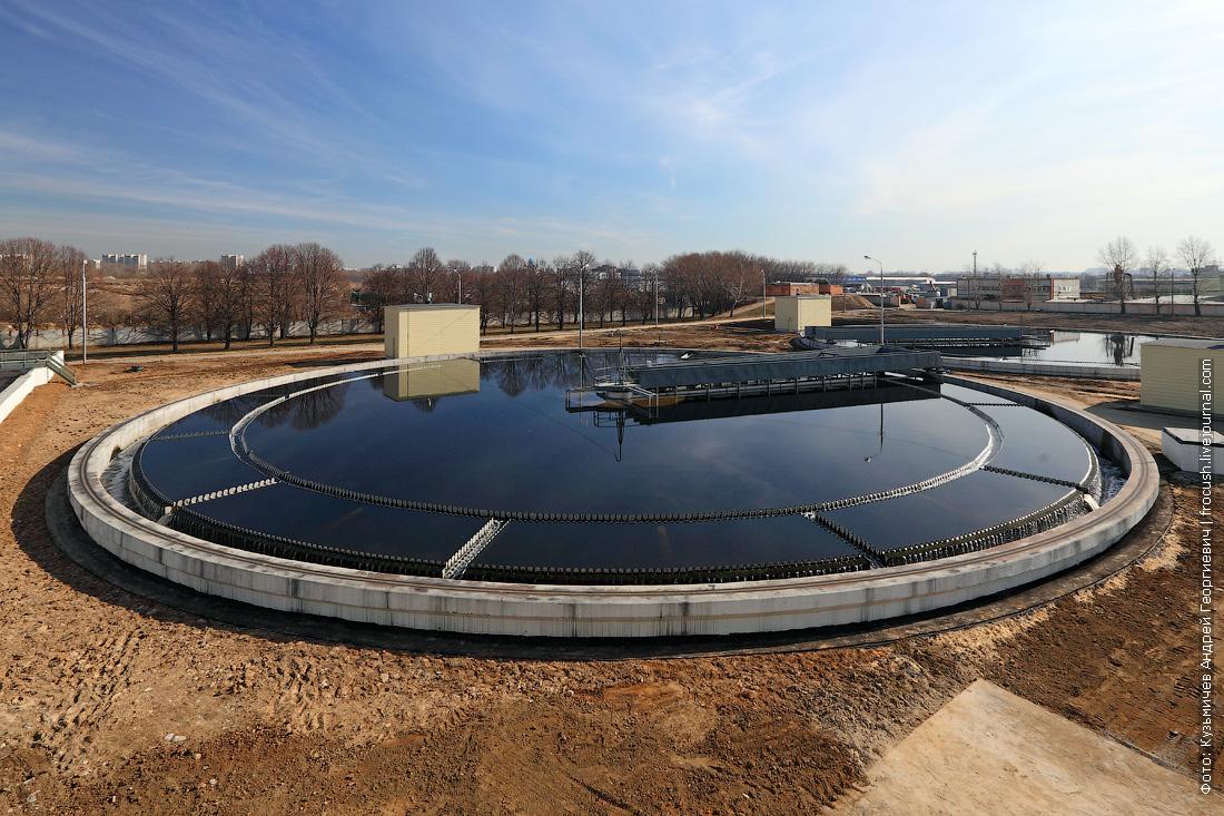 вторичный отстойник как очищают хозяйственно бытовые сточные воды в москве